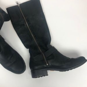 TIMBERLAND GRAY TALL BOOTS 11